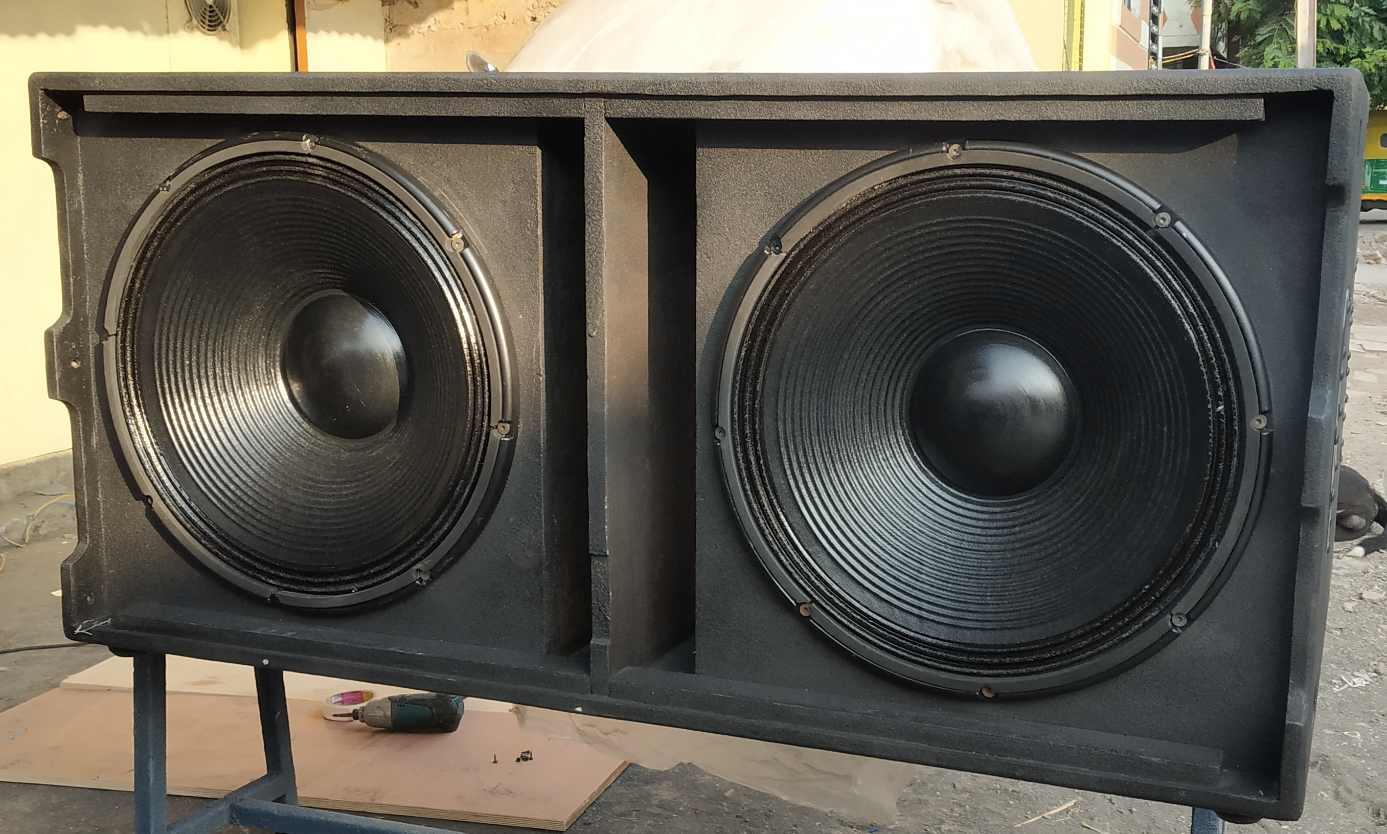 Dual 18'' RCF VMax Type Complete Sub woofer